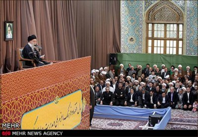 Labeik Khamenei! in a Rally