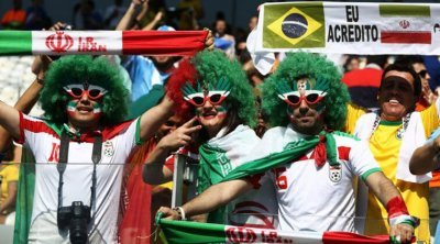 Brazil - Iranian Football Hooligans