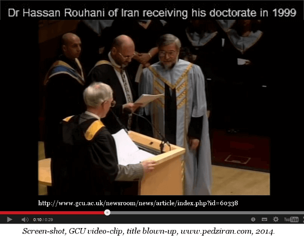 Rouhani Glasgow 1999