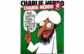 Gol-Mohammadi, Cartoon, Charlie Hebdo