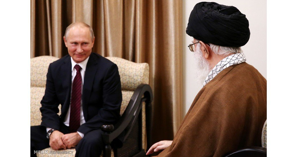 Iran and Russia, Nov 2017