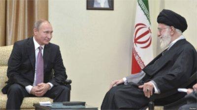 Khamenei hosting Putin