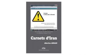 Carnets d'Iran, couverture