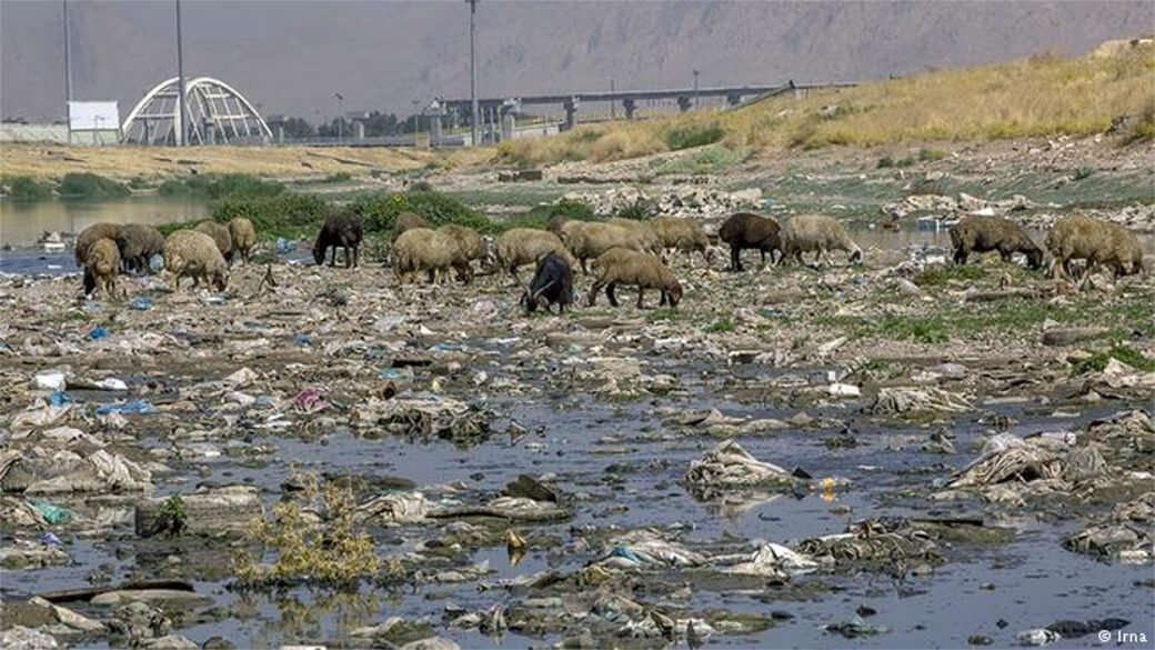 Water Pollution, Kermanshah-Iran, استان کرمانشاه