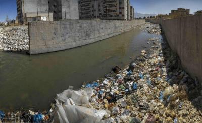 کرمانشاه:آبشوران - آشورا : هنوز فاضلاب و آشغال دان در سال ۱۳۹۶