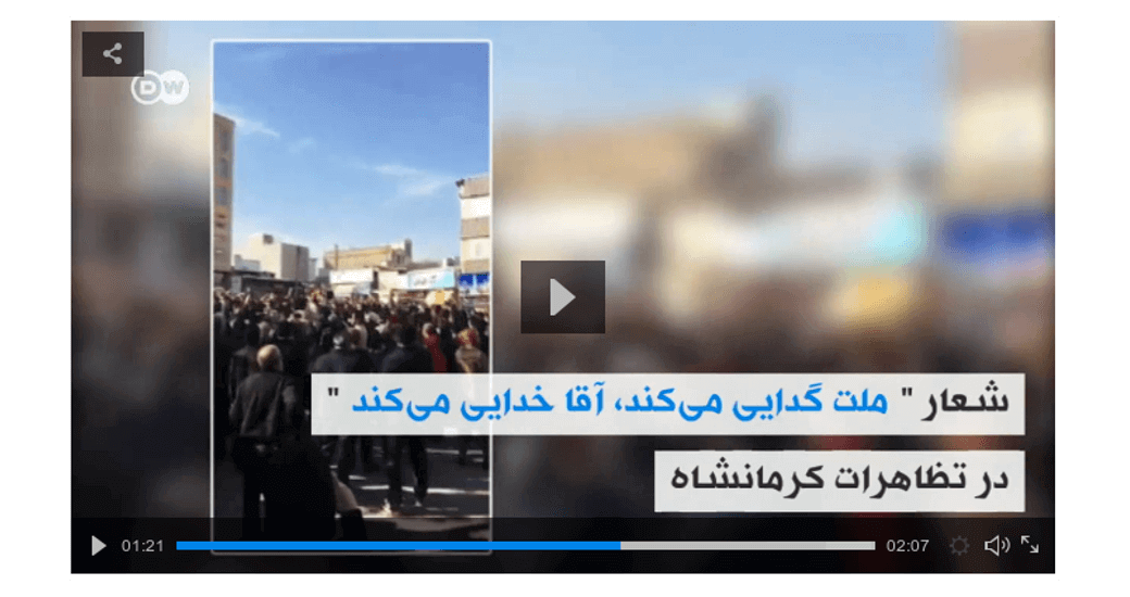 Kermanshah Protests