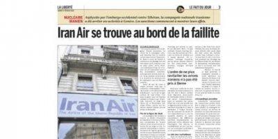 IranAir collapses, ایران ایر ورشکست