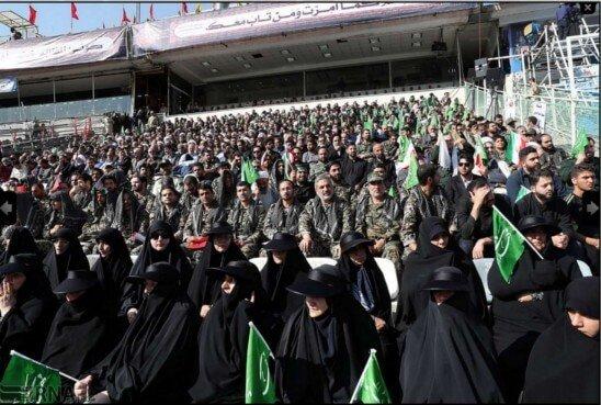 Arba'een 2018 Azadi Stadium, women's presence