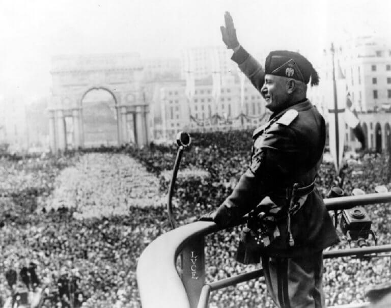 Italy's Mussolini