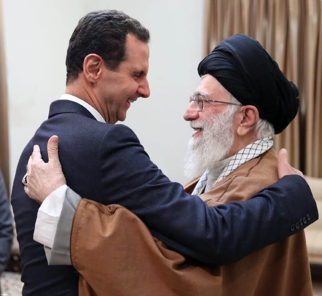Khamenei Waltzes with al-Assad,undermining Mohammad-Javad Zarif.