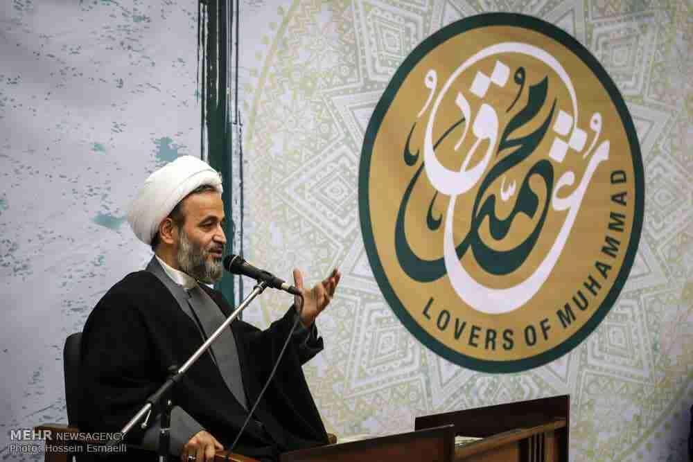 Ali-Reza Panahiyan shiite preacher