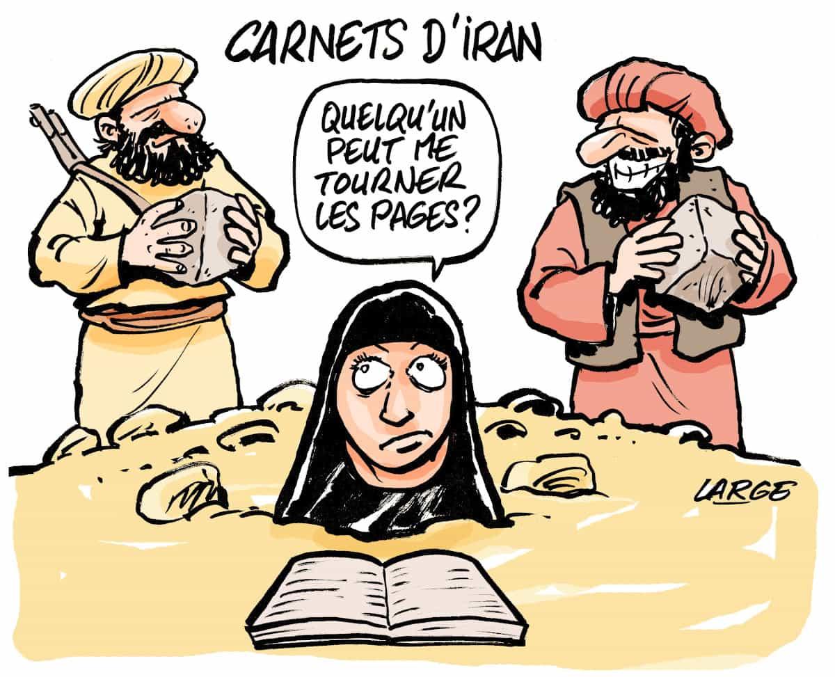 Albertine Ahmadi, Carnets d'Iran