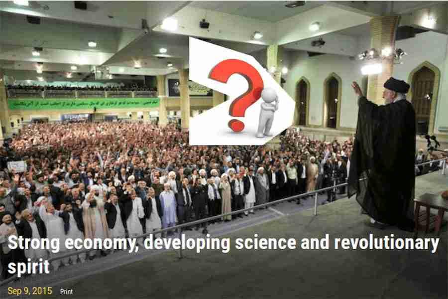 Environment A Time Bomb and Khamenei's economy
